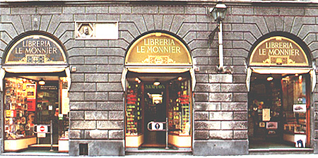 La Libreria Le Monnier, in Via San Gallo a Firenze